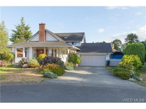 Main Photo: 2441 Costa Vista Pl in VICTORIA: CS Tanner House for sale (Central Saanich)  : MLS®# 739744