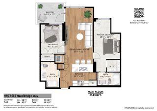 Photo 3: 915 8688 HAZELBRIDGE Way in Richmond: West Cambie Condo for sale : MLS®# R2612562