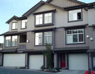 "Photo 1: 3 18828 69TH AV in Surrey: Clayton Townhouse for sale in ""Star Point"" (Cloverdale)  : MLS®# F2614081"