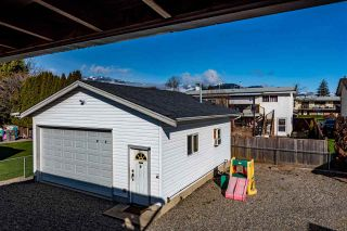 Photo 34: 45355 WESTVIEW Avenue in Chilliwack: Chilliwack W Young-Well House for sale : MLS®# R2542911