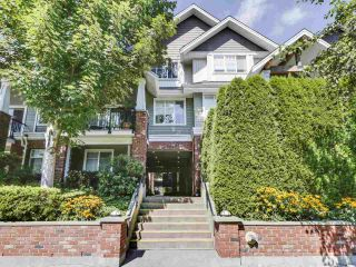 "Photo 1: 203 1567 GRANT Avenue in Port Coquitlam: Glenwood PQ Townhouse for sale in ""The Grant"" : MLS®# R2513303"