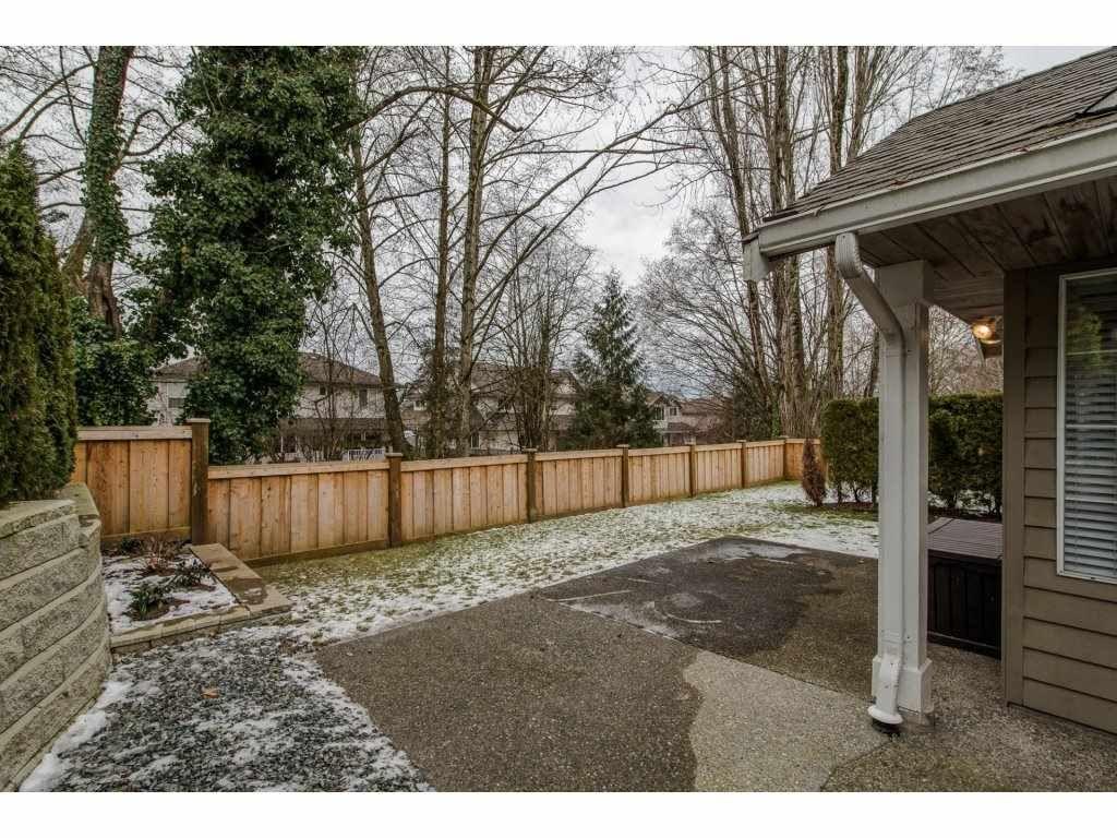 "Photo 20: Photos: 8 21848 50 Avenue in Langley: Murrayville Townhouse for sale in ""CEDAR CREST ESTATES"" : MLS®# R2132089"