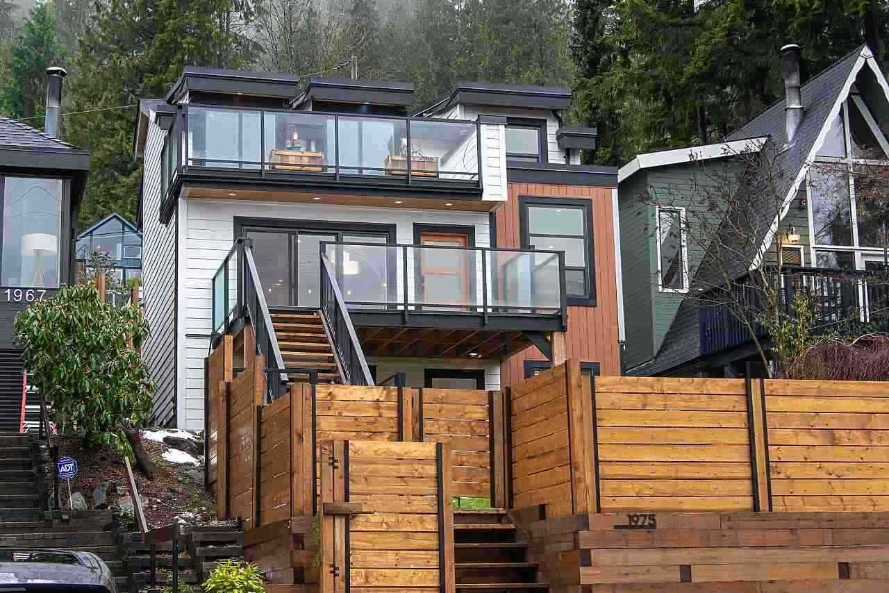 Main Photo: 1975 DEEP COVE ROAD in North Vancouver: Deep Cove House for sale : MLS®# R2461062