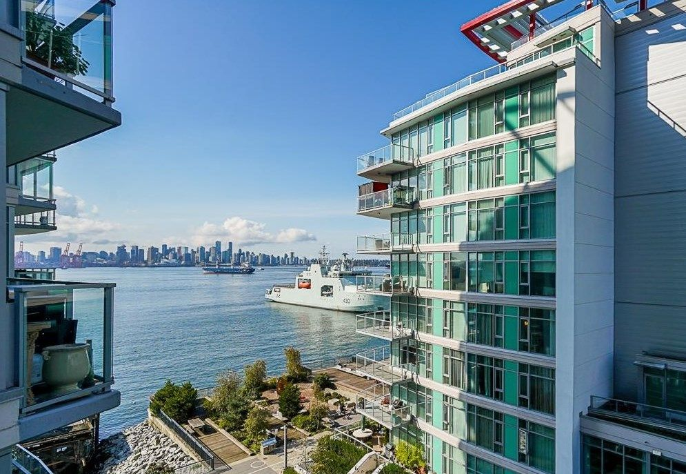 Main Photo: 504 199 VICTORY SHIP Way in North Vancouver: Lower Lonsdale Condo for sale : MLS®# R2625317