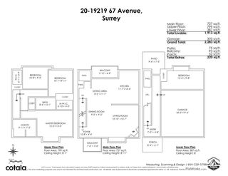 """Photo 28: 20 19219 67 Avenue in Surrey: Clayton Townhouse for sale in """"The Balmoral"""" (Cloverdale)  : MLS®# R2573957"""