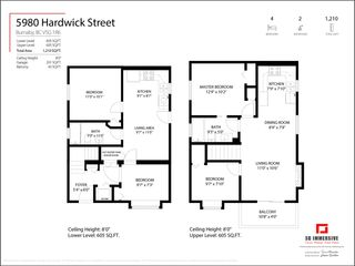 Photo 3: 5980 HARDWICK Street in Burnaby: Central BN 1/2 Duplex for sale (Burnaby North)  : MLS®# R2560343