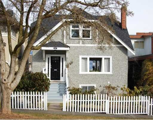 """Main Photo: 3267 W 21ST Avenue in Vancouver: Dunbar House for sale in """"DUNBAR"""" (Vancouver West)  : MLS®# V758868"""