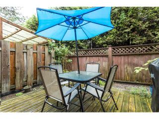 Photo 14: 263 BALMORAL Place in Port Moody: North Shore Pt Moody Townhouse for sale : MLS®# V1085063
