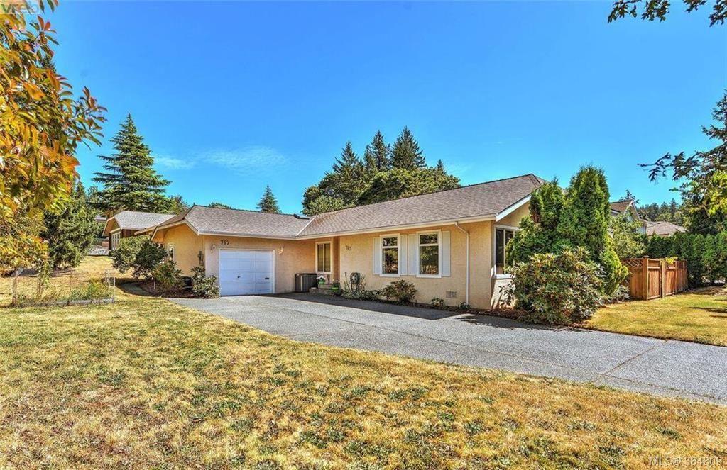 Main Photo: 767 Haliburton Rd in VICTORIA: SE Cordova Bay House for sale (Saanich East)  : MLS®# 773451