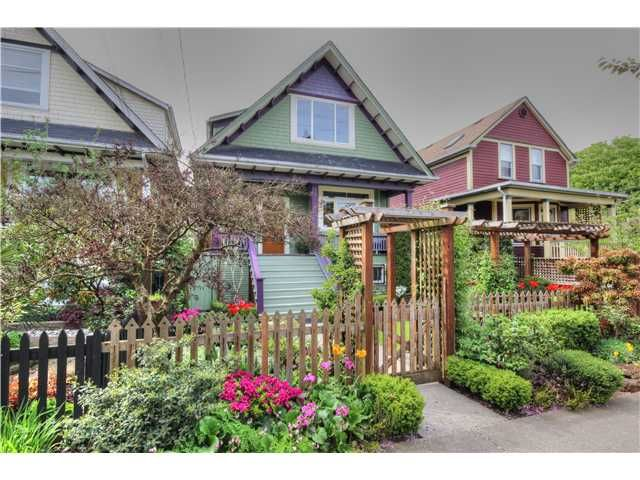 Main Photo: 2639 CAROLINA ST in Vancouver: Mount Pleasant VE House for sale (Vancouver East)  : MLS®# V1062319