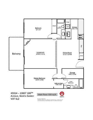 """Photo 16: 3314 13827 100 Avenue in Surrey: Whalley Condo for sale in """"Carriage Lane Estates"""" (North Surrey)  : MLS®# R2361122"""