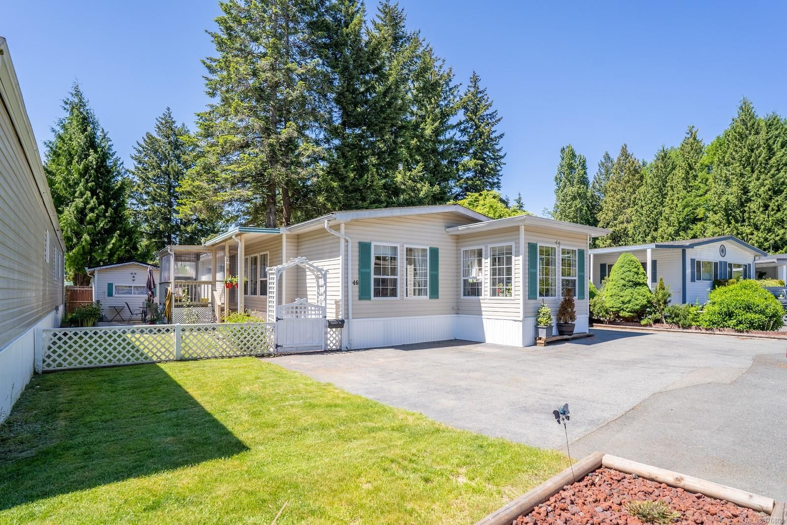 Main Photo: 46 5854 Turner Rd in : Na Pleasant Valley Manufactured Home for sale (Nanaimo)  : MLS®# 876880