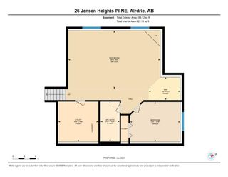 Photo 33: 26 Jensen Heights Place NE: Airdrie Detached for sale : MLS®# A1062665