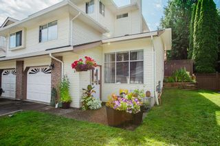 """Photo 1: 17 22900 126 Avenue in Maple Ridge: East Central Townhouse for sale in """"COHO CREEK ESTATES"""" : MLS®# R2482443"""