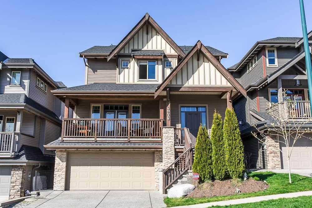Main Photo: 3403 HORIZON Drive in Coquitlam: Burke Mountain House for sale : MLS®# R2136853