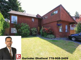 Photo 1: 8134 122 ST in Surrey: Queen Mary Park Surrey House for sale : MLS®# F1444883