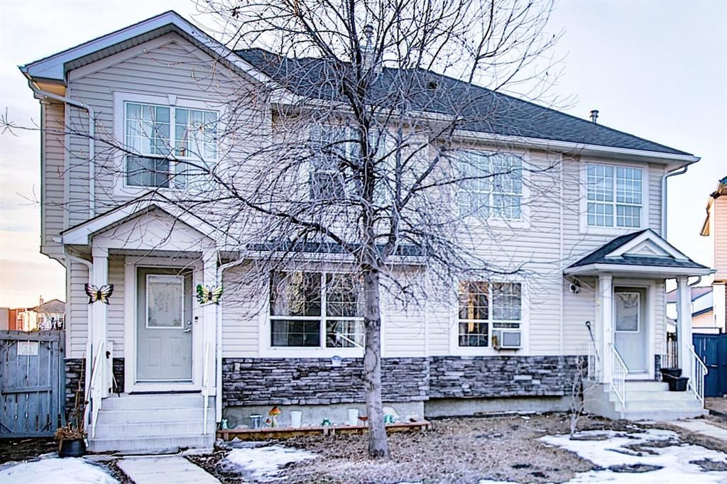 Main Photo: 85 Tarington Landing NE in Calgary: Taradale Semi Detached for sale : MLS®# A1079006