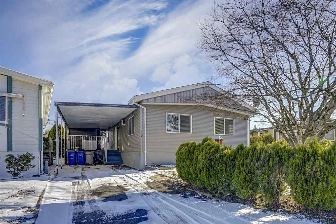 Main Photo: 46 31313 LIVINGSTONE AVENUE in : Abbotsford West Manufactured Home for sale : MLS®# R2337850