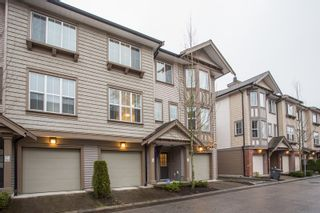 "Main Photo: 19 14838 61 Avenue in Surrey: Sullivan Station Townhouse for sale in ""Sequoia"" : MLS®# R2322318"