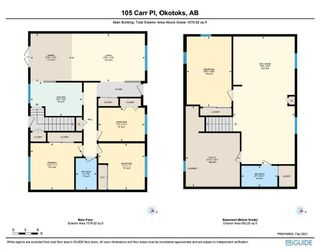 Photo 35: 105 Carr Place: Okotoks Residential for sale : MLS®# A1064489
