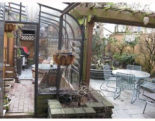 """Photo 7: 5 960 W 13TH Avenue in Vancouver: Fairview VW Townhouse for sale in """"BRICKHOUSE"""" (Vancouver West)  : MLS®# V749405"""