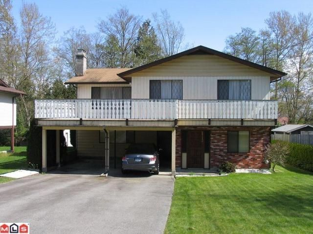 Main Photo: 1712 157TH Street in Surrey: King George Corridor House for sale (South Surrey White Rock)  : MLS®# F1010716