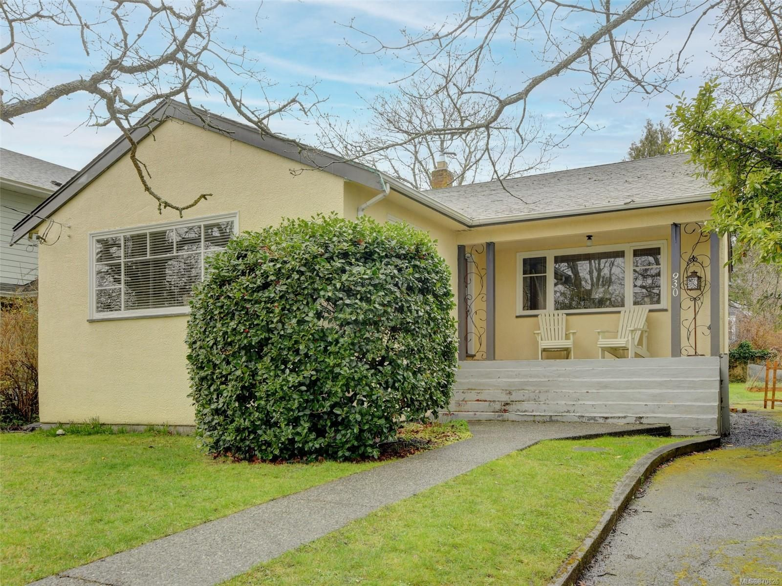 Main Photo: 930 Bank St in : Vi Fairfield East House for sale (Victoria)  : MLS®# 870826