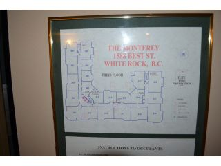 """Photo 12: 306 1588 BEST Street: White Rock Condo for sale in """"THE MONTEREY"""" (South Surrey White Rock)  : MLS®# F1432926"""