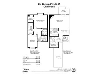 """Photo 2: 25 8975 MARY Street in Chilliwack: Chilliwack W Young-Well Townhouse for sale in """"HAZELMERE"""" : MLS®# R2585506"""