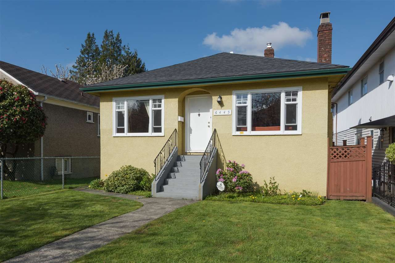 Main Photo: 6445 ONTARIO Street in Vancouver: Oakridge VW House for sale (Vancouver West)  : MLS®# R2161929