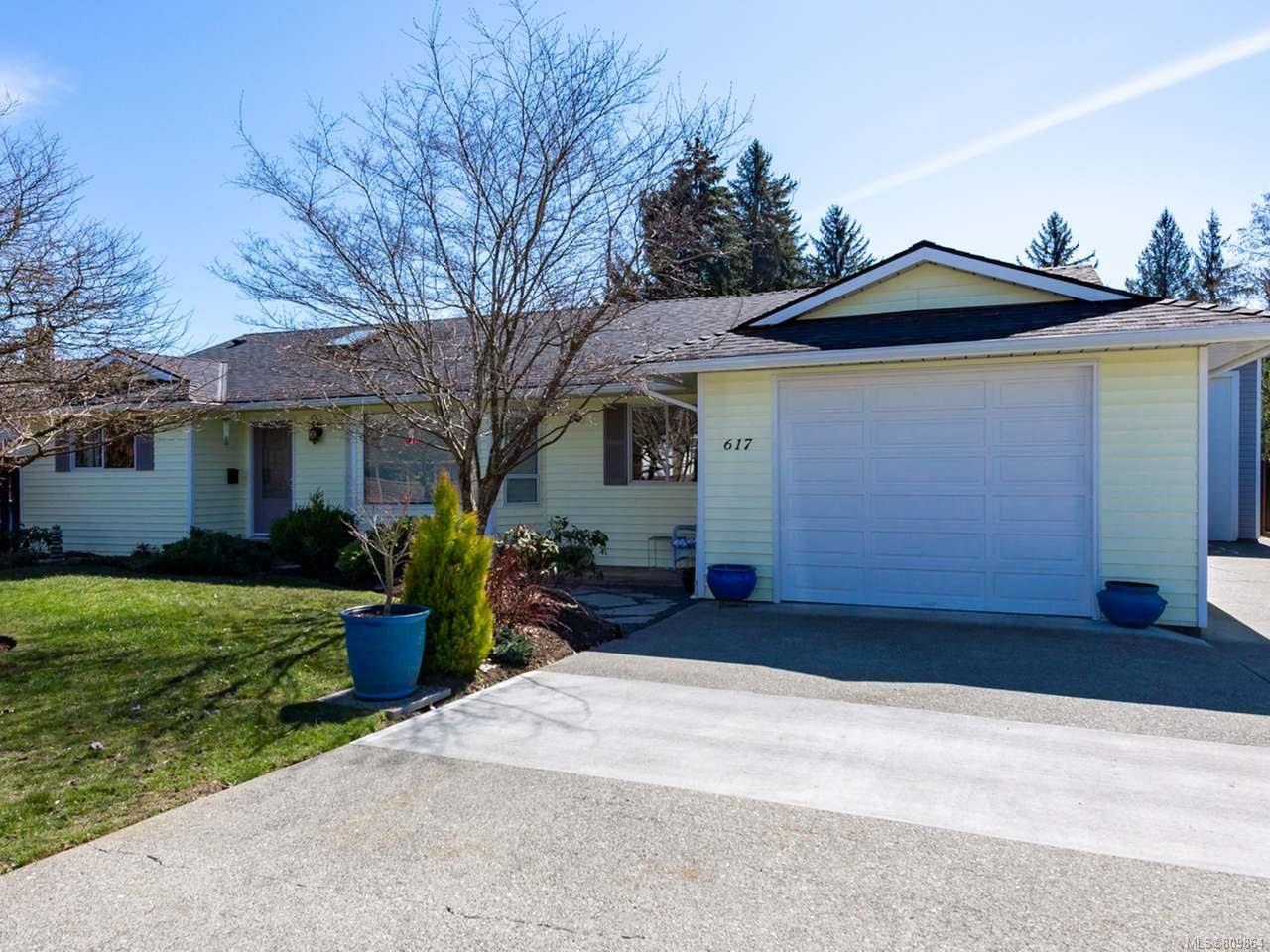Main Photo: 617 Springbok Rd in CAMPBELL RIVER: CR Campbell River Central House for sale (Campbell River)  : MLS®# 809864