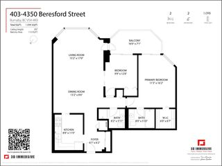 """Photo 26: 403 4350 BERESFORD Street in Burnaby: Metrotown Condo for sale in """"CARLTON ON THE PARK"""" (Burnaby South)  : MLS®# R2580474"""