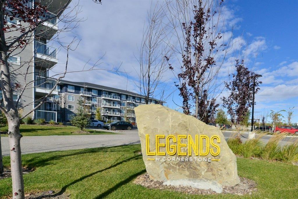 Main Photo: 1327 76 Cornerstone Passage NE in Calgary: Cornerstone Apartment for sale : MLS®# A1153671