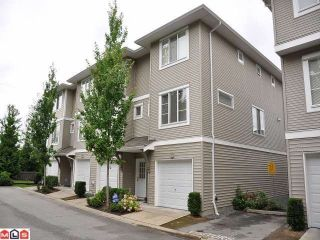"""Photo 1: 67 15155 62A Avenue in Surrey: Sullivan Station Townhouse for sale in """"THE OAKLANDS"""" : MLS®# F1218827"""