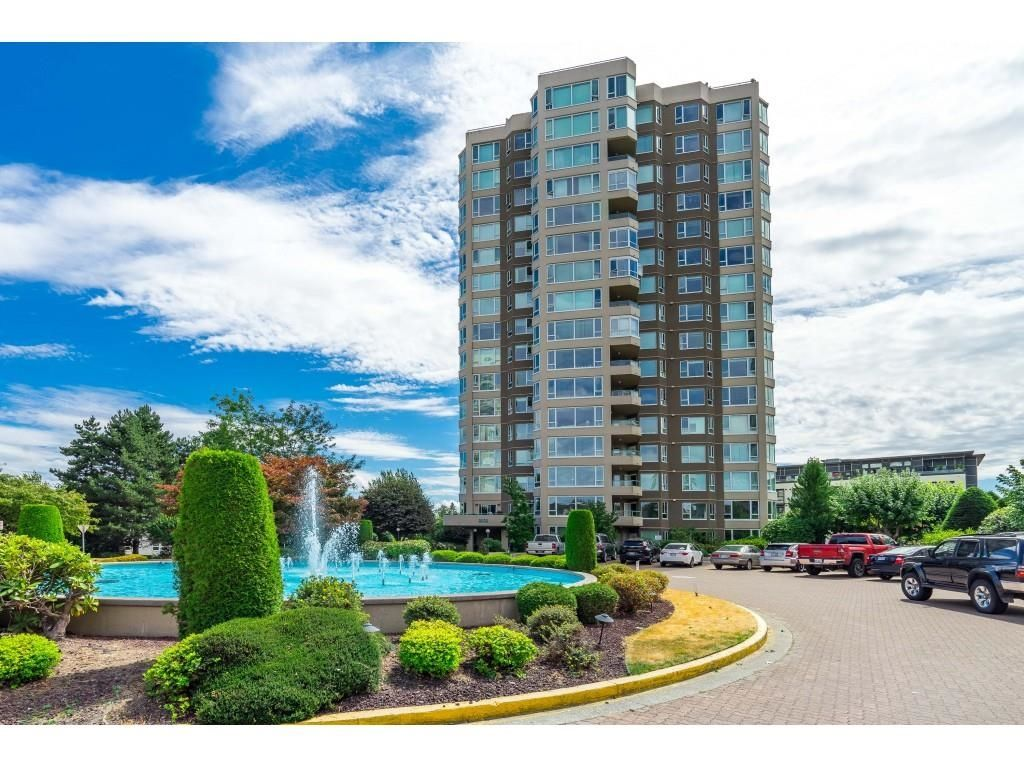 """Main Photo: 1105 3170 GLADWIN Road in Abbotsford: Central Abbotsford Condo for sale in """"REGENCY PARK"""" : MLS®# R2608415"""