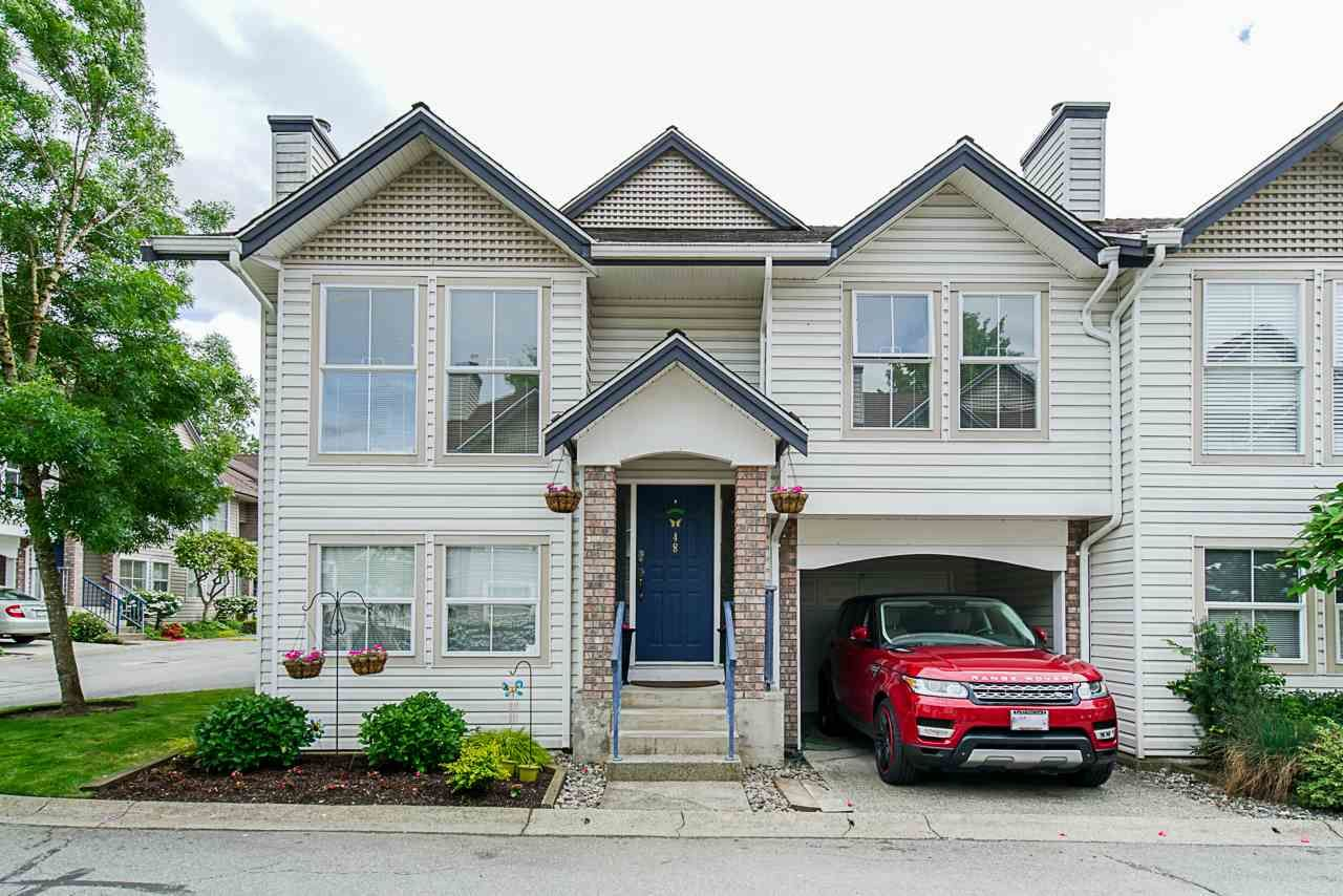 "Main Photo: 48 8716 WALNUT GROVE Drive in Langley: Walnut Grove Townhouse for sale in ""Willow Arbour"" : MLS®# R2368524"