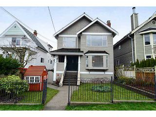 """Photo 1: 35 W 15TH Avenue in Vancouver: Mount Pleasant VW Duplex for sale in """"MOUNT PLEASANT WEST"""" (Vancouver West)  : MLS®# V996233"""