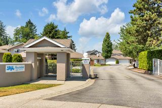 """Photo 1: 171 15501 89A Avenue in Surrey: Fleetwood Tynehead Townhouse for sale in """"AVONDALE"""" : MLS®# R2597130"""