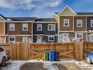 Photo 36: 142 Sunset Road: Cochrane Row/Townhouse for sale : MLS®# A1052095