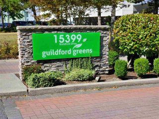 """Photo 1: 46 15399 GUILDFORD Drive in Surrey: Guildford Townhouse for sale in """"GUILDFORD GREEN"""" (North Surrey)  : MLS®# R2577947"""