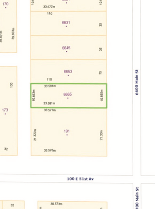 Photo 3: 6665 Main Street in Vancouver: Land for sale