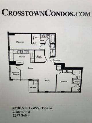 Photo 23: 2501 550 TAYLOR Street in Vancouver: Downtown VW Condo for sale (Vancouver West)  : MLS®# R2561889
