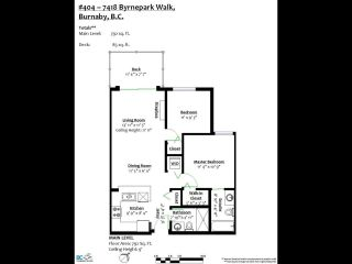"""Photo 19: 404 7418 BYRNEPARK Walk in Burnaby: South Slope Condo for sale in """"GREEN"""" (Burnaby South)  : MLS®# R2466553"""