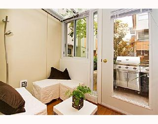 """Photo 6: 29 638 W 6TH Avenue in Vancouver: Fairview VW Townhouse for sale in """"STELLA DEL FIORDO"""" (Vancouver West)  : MLS®# V663726"""