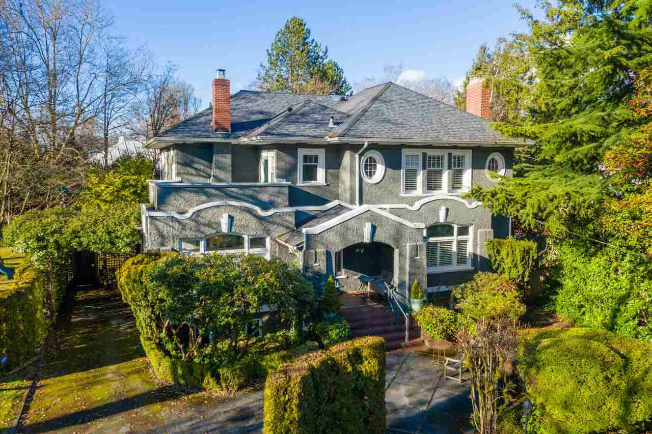 """Main Photo: 1651 MATTHEWS Avenue in Vancouver: Shaughnessy House for sale in """"First Shaughnessy"""" (Vancouver West)  : MLS®# R2613414"""