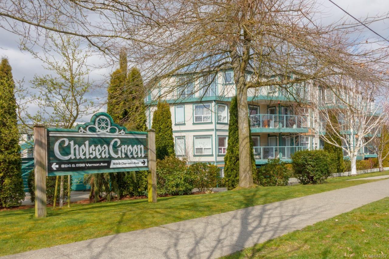 Main Photo: 301 899 Darwin Ave in : SE Swan Lake Condo for sale (Saanich East)  : MLS®# 882857