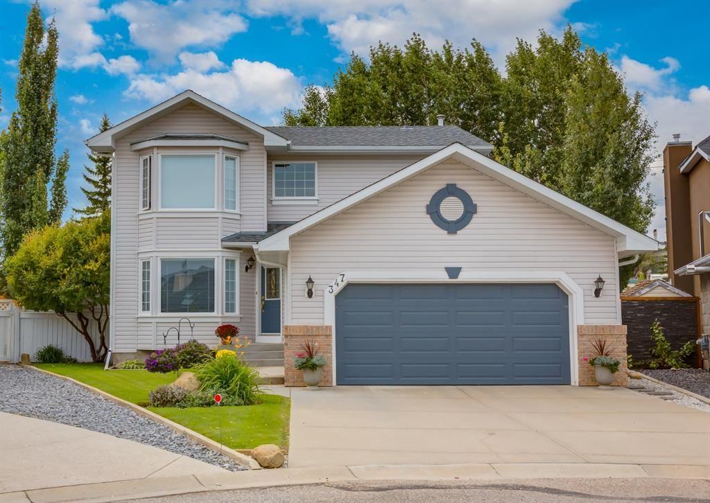 Main Photo: 347 Diamond Drive SE in Calgary: Diamond Cove Detached for sale : MLS®# A1147455