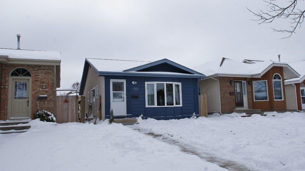 Main Photo: 52 Zawaly Bay in Winnipeg: Transcona Residential for sale (North East Winnipeg)  : MLS®# 1221823