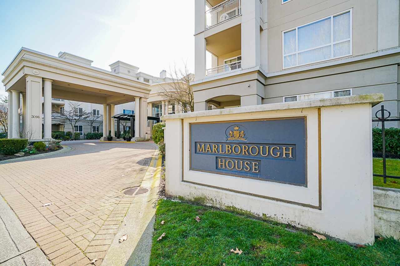 """Main Photo: 207 3098 GUILDFORD Way in Coquitlam: North Coquitlam Condo for sale in """"Malborough House"""" : MLS®# R2449072"""