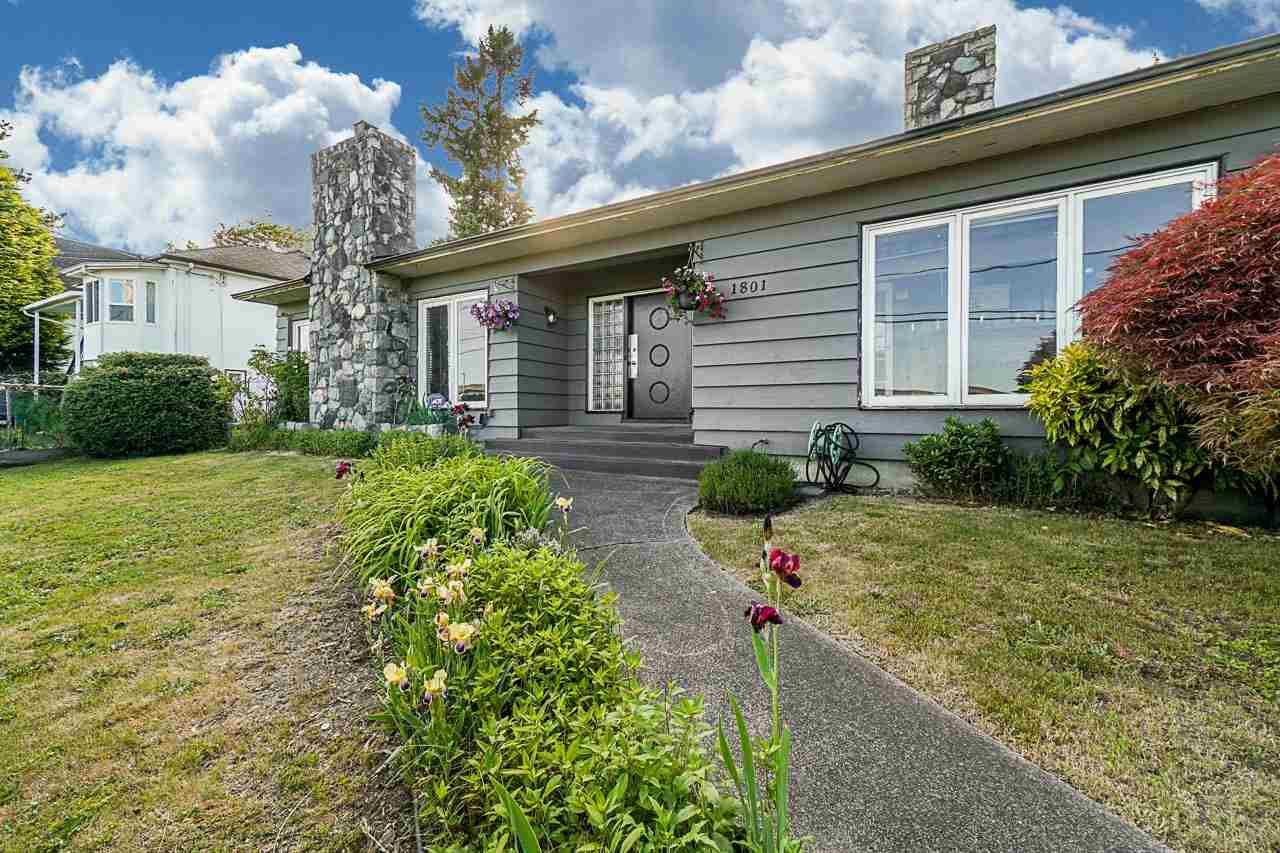 Main Photo: 1801 SIXTH Avenue in New Westminster: West End NW House for sale : MLS®# R2585449